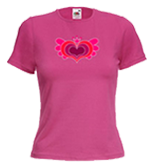 Ladies Round Neck Tshirts