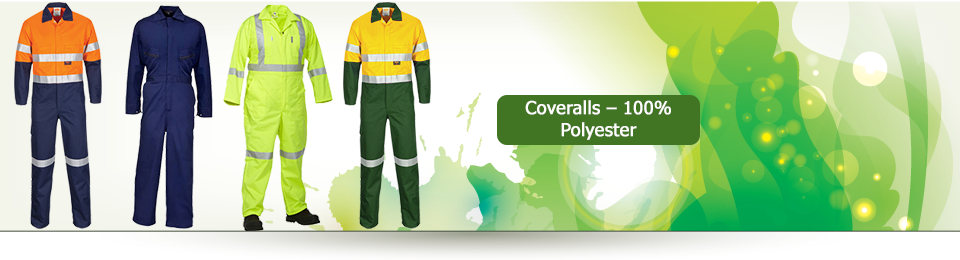 Coveralls – 100% Polyester