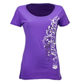 Ladies Scoop Neck Tshirts