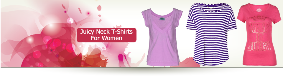 Ladies Juicy Neck Tshirts